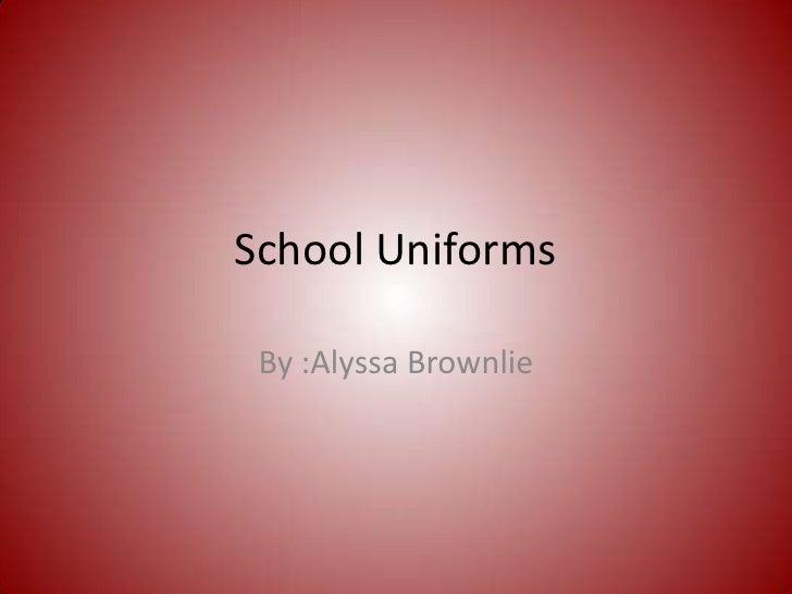 school uniforms debate essay