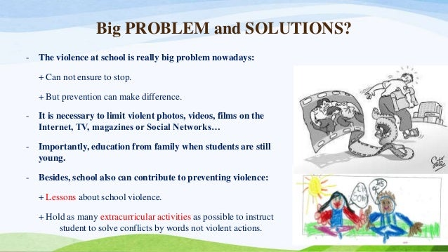 for school violence essay for school violence