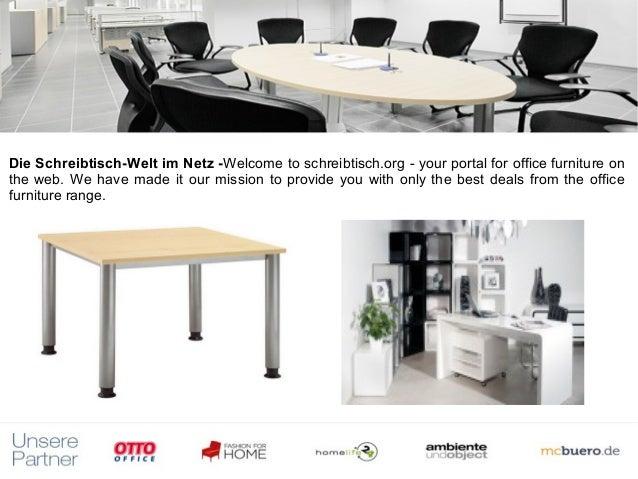 Die Schreibtisch-Welt im Netz -Welcome to schreibtisch.org - your portal for office furniture on                        t...