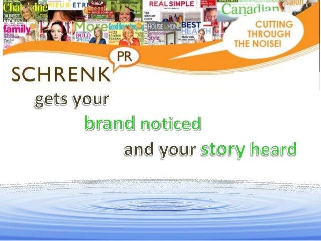 Schrenk PR Introductory Presentation -