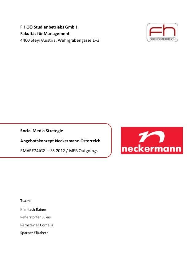FHOÖStudienbetriebsGmbH FakultätfürManagement 4400Steyr/Austria,Wehrgrabengasse1–3         SocialMe...