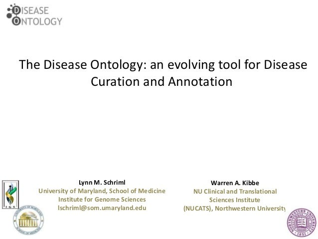 Human Disease Ontology Project presented at ISB's Biocurator meeting April 2014
