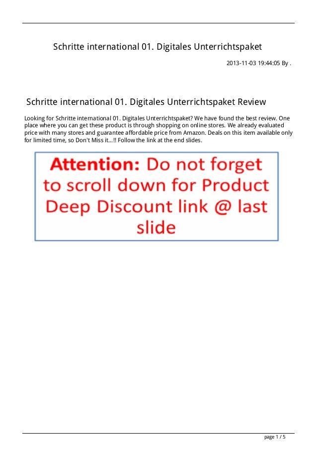 Schritte international 01. Digitales Unterrichtspaket 2013-11-03 19:44:05 By .  Schritte international 01. Digitales Unter...
