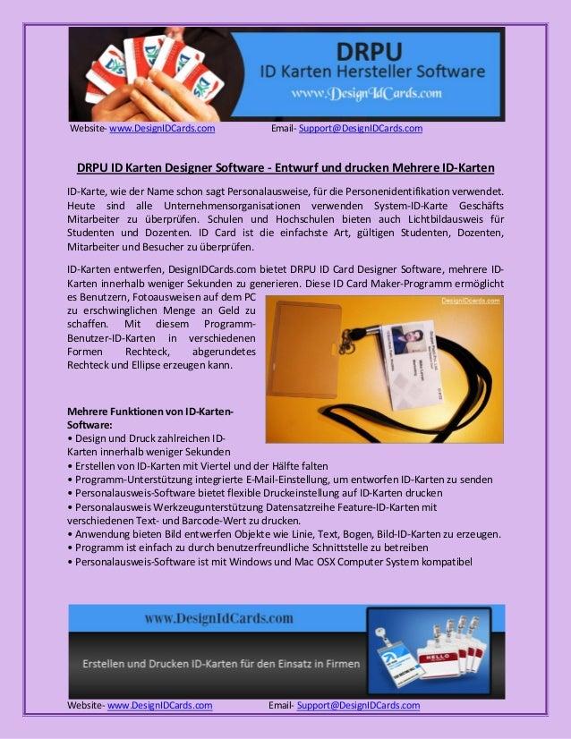 Website- www.DesignIDCards.com Email- Support@DesignIDCards.com Website- www.DesignIDCards.com Email- Support@DesignIDCard...