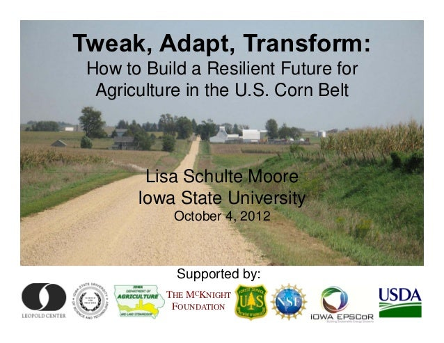 Lisa Schulte Moore at the Iowa Environmental Council's annual conference