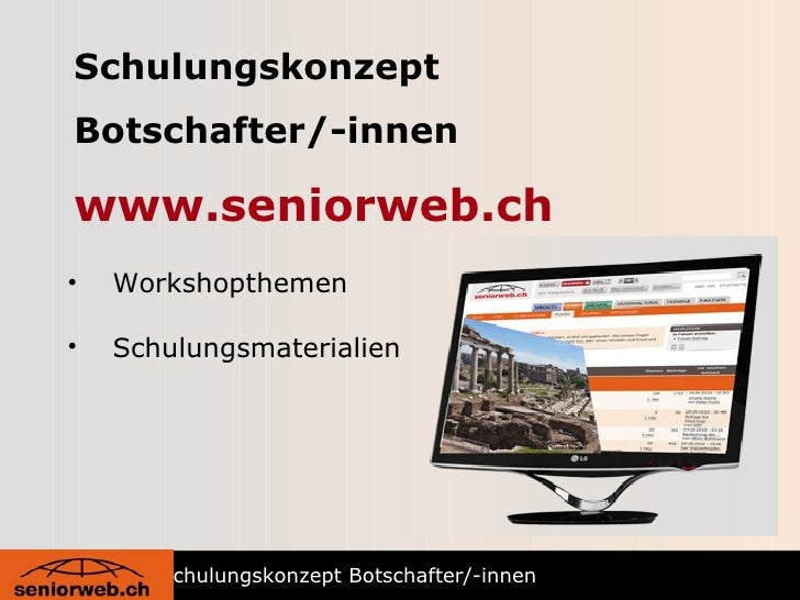 Schulungskonzept botschafter workshops