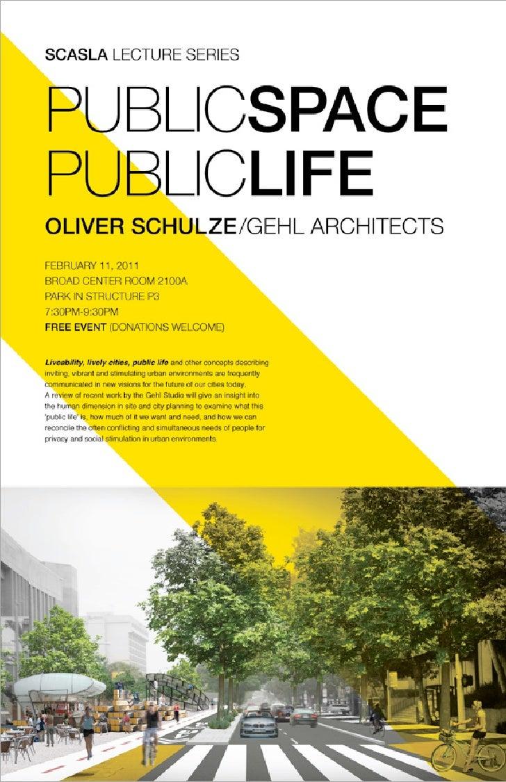 Public Space Public Life in Los Angeles