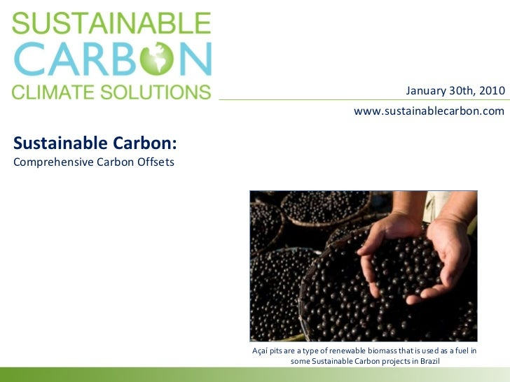 Sustainable Carbon Presentation