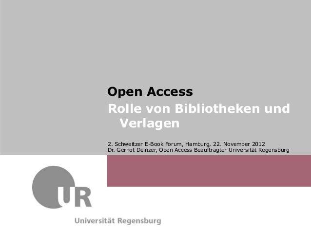 Dr. Gernot Deinzer,                          Dr.Schweitzer E-Book Forum, Hamburg,                          2. Max Musterma...