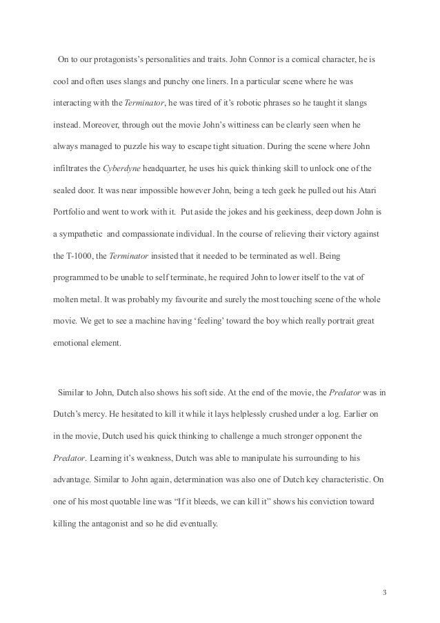 Sifi narrative essay's