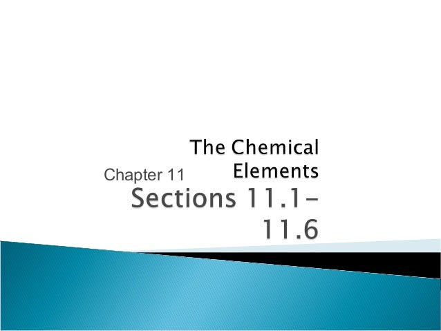 Sci 1010 chapter11