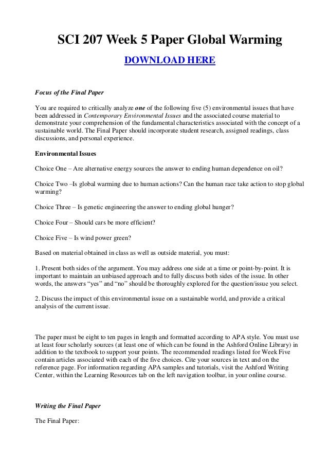 reaction paper on global warming essay These are some of the short essay topics on global warming among which writing short essays on global warming and a response essay on the rite of.