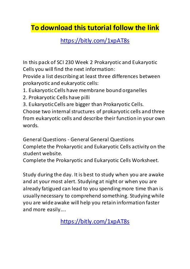 sci 230 week 3 cell energy worksheet