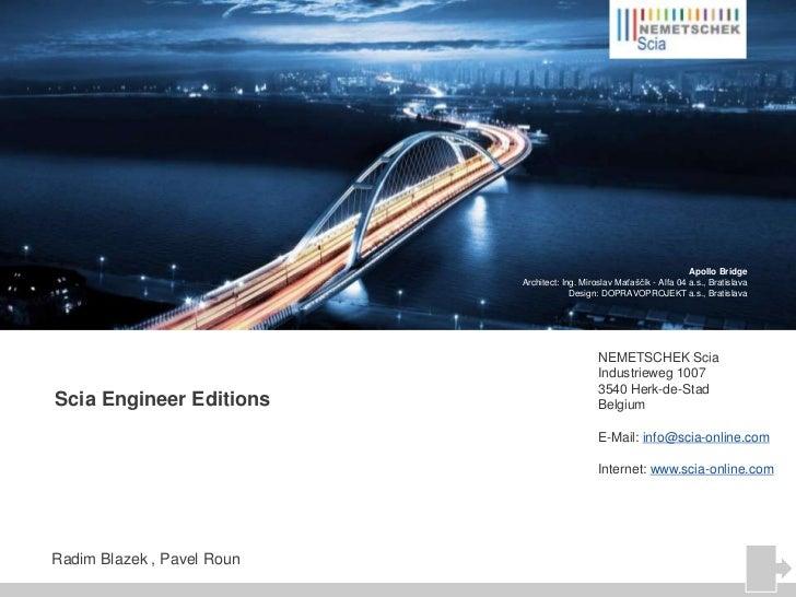 Scia Engineer Editions