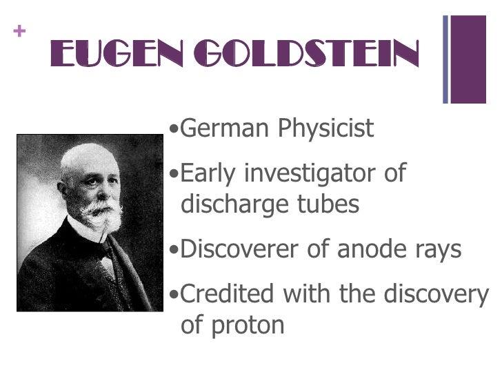 Eugen Goldstein Relate...