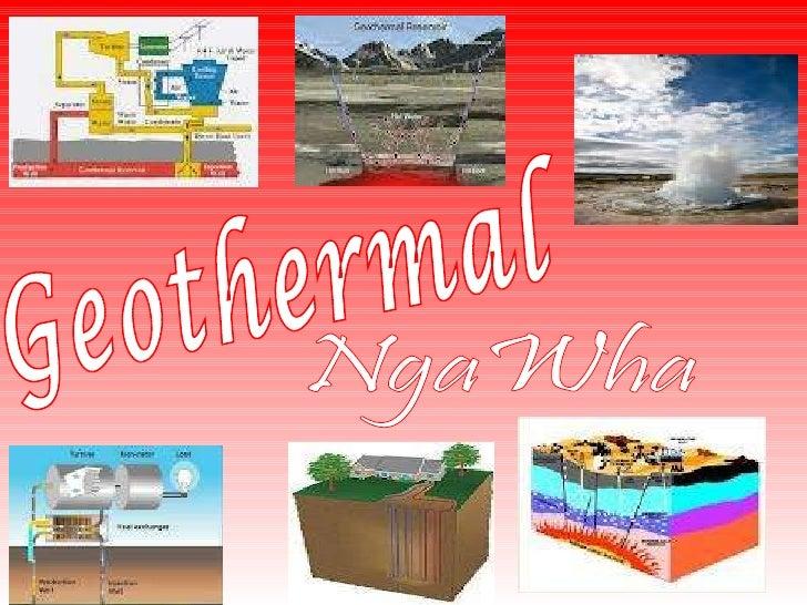 Science geothermal