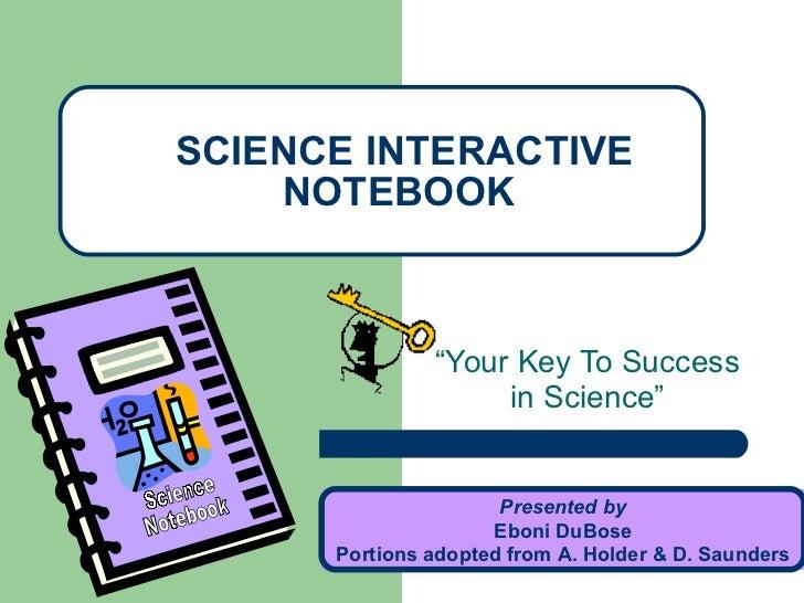 Science interactive-notebook
