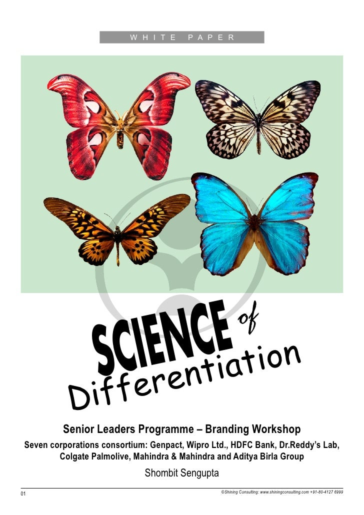 Science of-differentiation