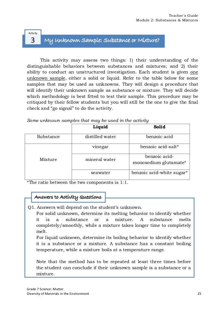 grade 7 science test pdf