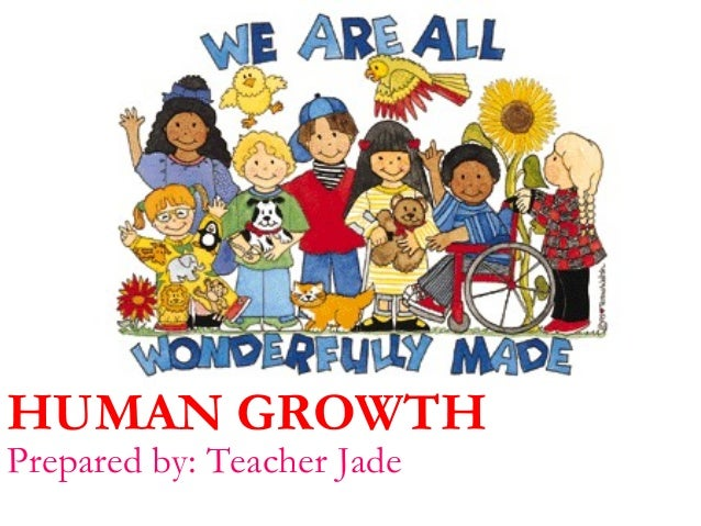 HUMAN GROWTH Prepared by: Teacher Jade