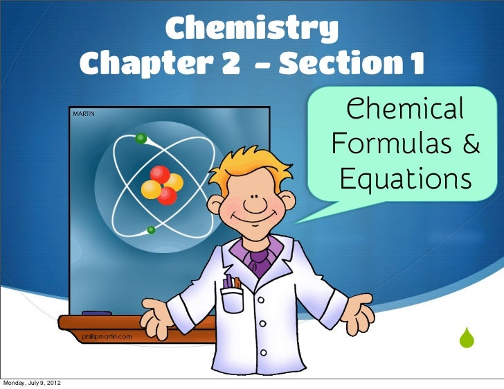 Chemistry                       Chapter 2 - Section 1                                       Chemical                      ...