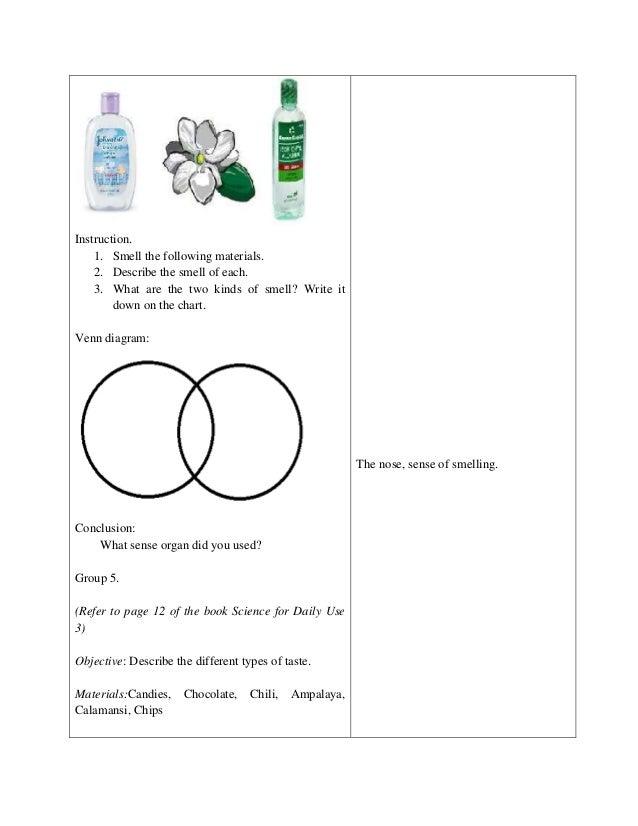 Beautiful Kindergarten Worksheets Kid The 5 Senses 5 Senses