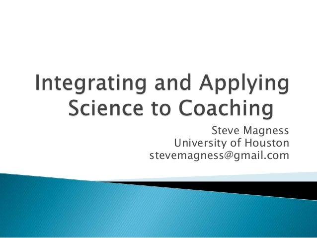 Steve MagnessUniversity of Houstonstevemagness@gmail.com