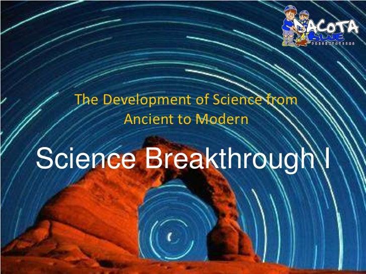 Dacota_blue: Science breakthrough I