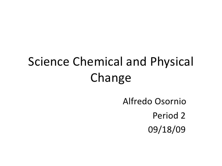 Pics Photos - Physical Change Chemical Lesson Plan