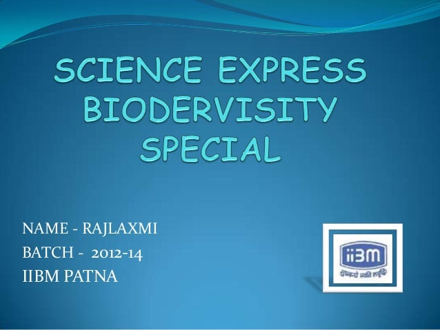 Science express biodervisity special