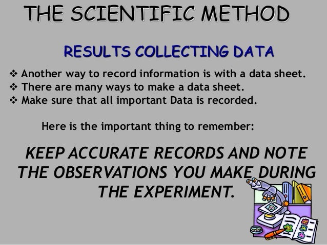 Science Data Sheet is With a Data Sheet