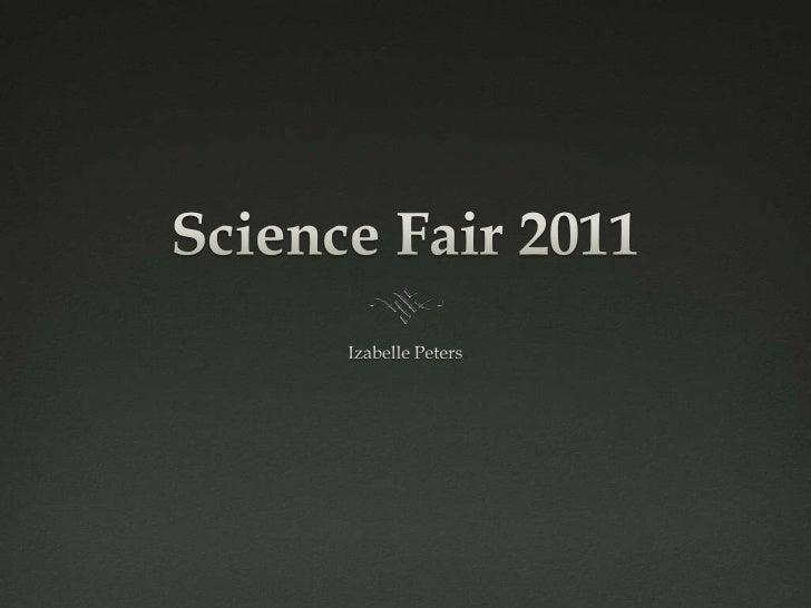 Science Fair Slideshow: Osmosis and Diffusion