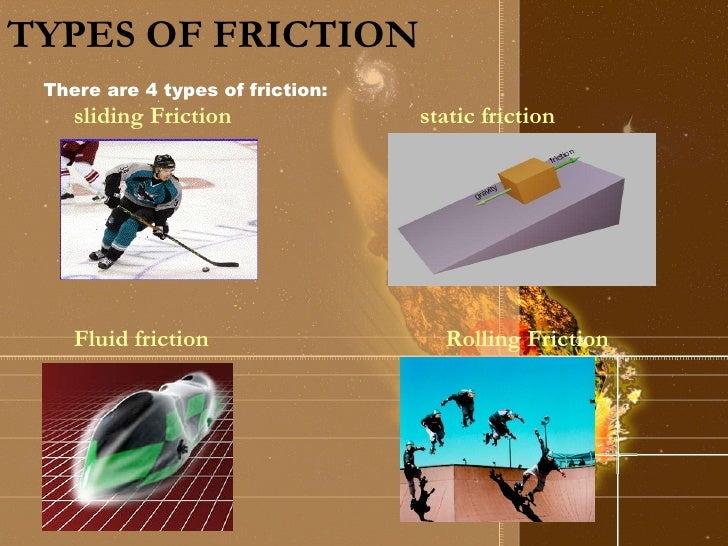 Worksheets Types Of Friction science friction types of
