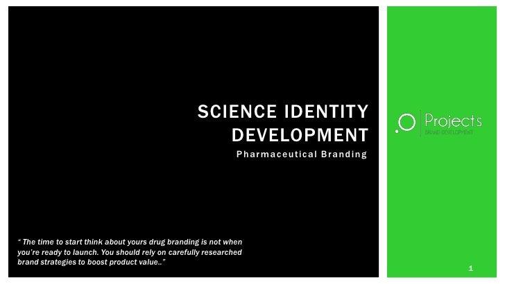 Science identity development