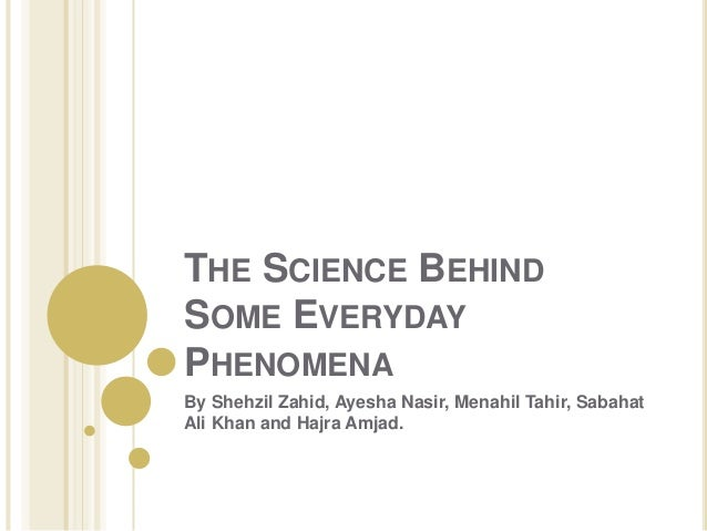 Science in Our Everyday Life