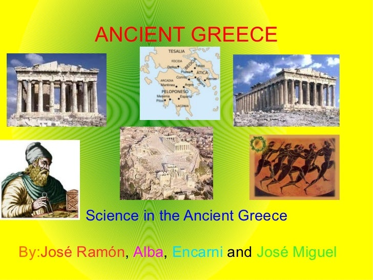 Science in the Ancient Greece