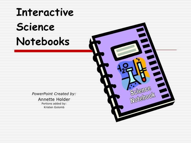Science Notebooking Asset Pssa Presentation