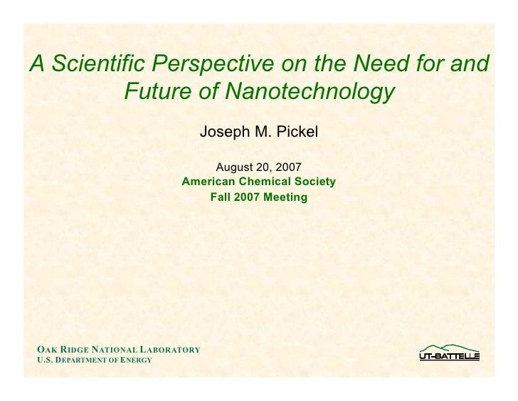 Science Of Nano