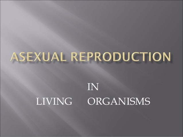 Asexual mode of reproduction