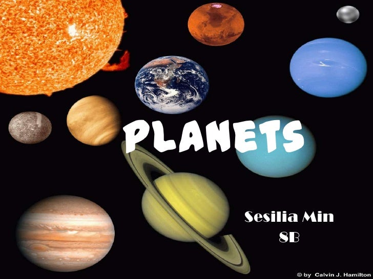 Science planets ppt