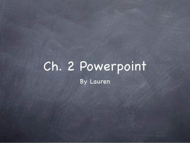Science powerpoint