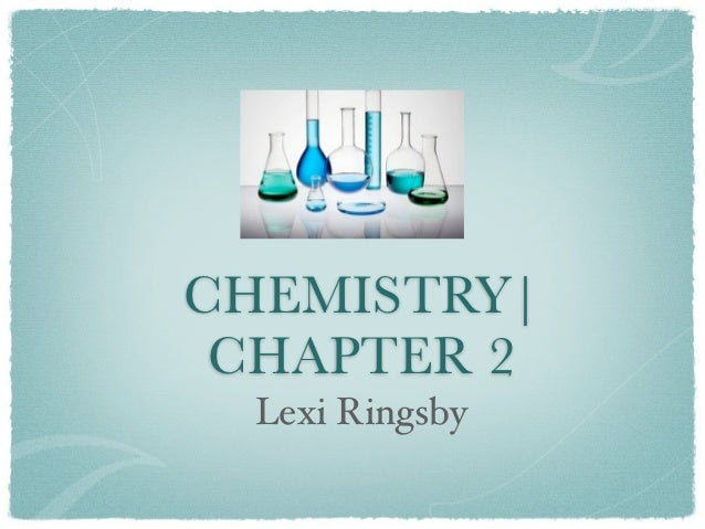 Science Power Point Chapter 2