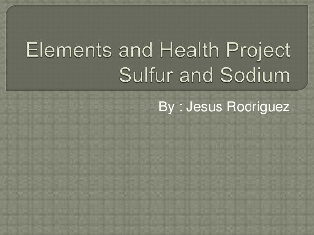 Elements and health project
