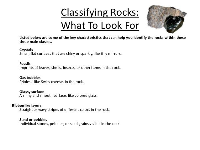 classifying rocks pictures to pin on pinterest pinsdaddy. Black Bedroom Furniture Sets. Home Design Ideas