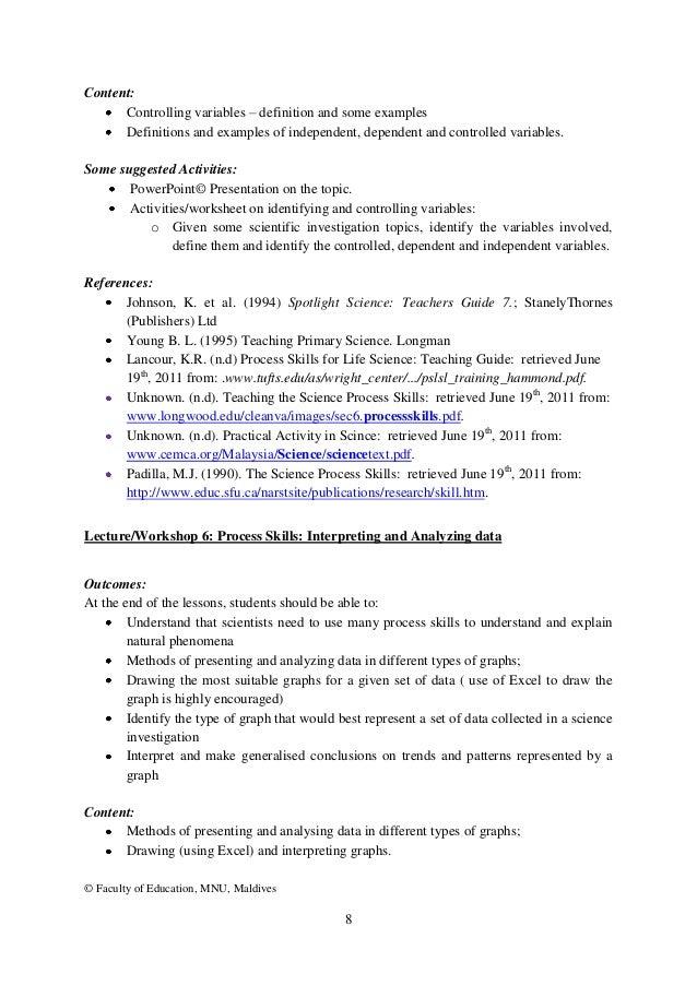 Identifying Variables Worksheet - andrewgarfieldsource