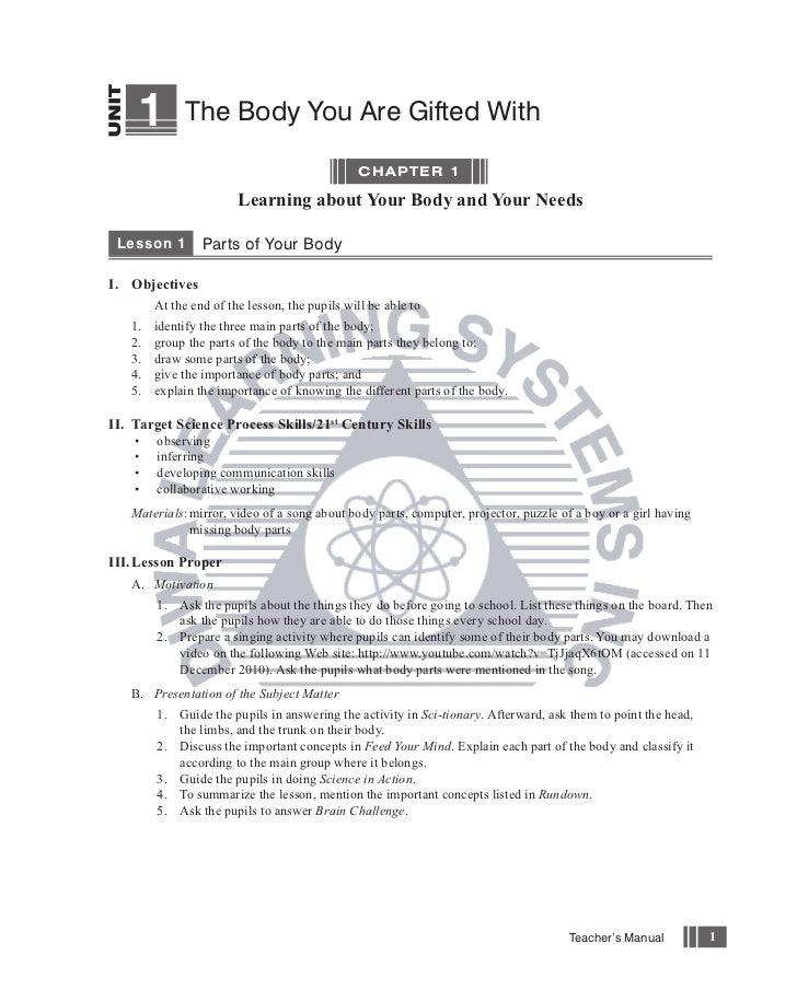 Science Works Grade 1 Teacher's Manual
