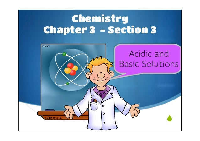 3.3 Acids and Bases