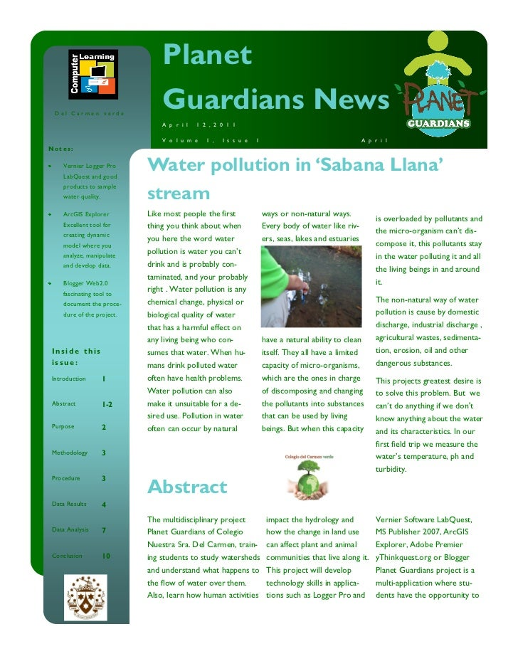Scientific Article Sabana Llana Stream