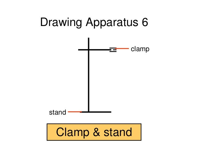 Clamp Stand Drawing