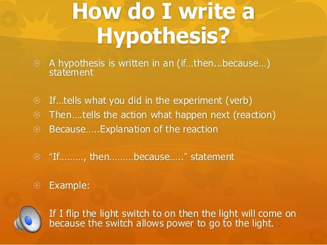 What is the difference between Hypothesis and Theory